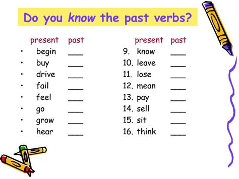 PPT - Simple Past Tense PowerPoint Presentation - ID:4197749