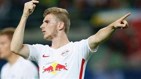RB Leipzig's Timo Werner is youngest to play 100