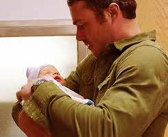 When He Held a Baby | Hot Pictures of Taylor Kinney on