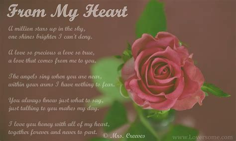 Poem Name: From My heart Poetess name: Mrs