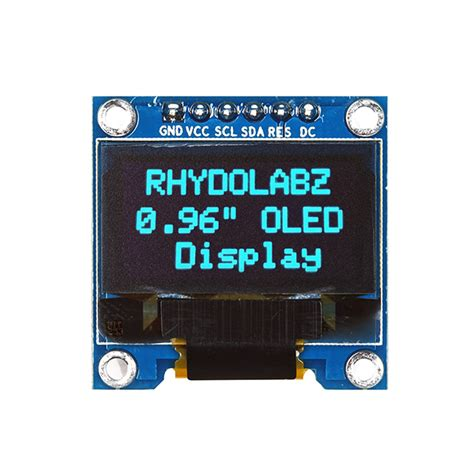 SSD1306 (6 pin/SPI) with STM32F103C8T6