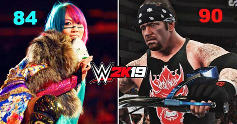 20 Ridiculous Ratings For WWE 2K19 That Never Should've