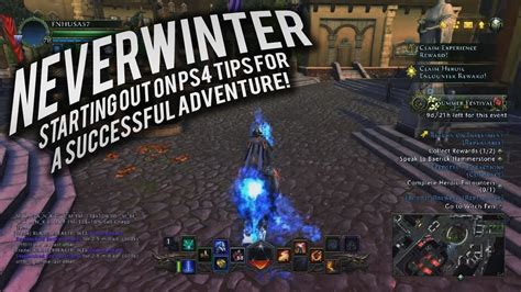 Neverwinter: Starting out on PS4 Tips For A Successful
