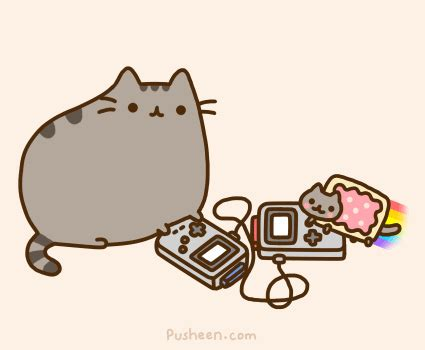 Pusheen Cat GIFs - Find & Share on GIPHY