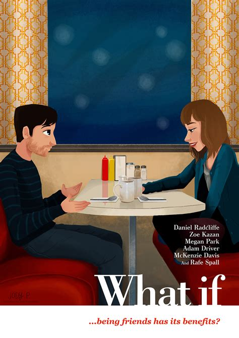 """""""What If"""" Illustrated Movie Poster on Behance"""