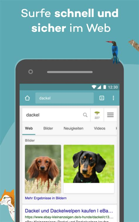 Ecosia Browser - Trees & Privacy für Android - Download