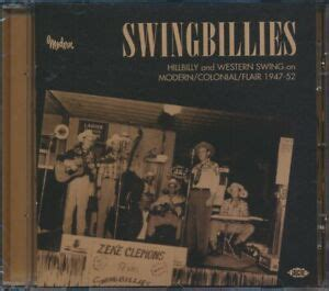 SEALED NEW CD Various - Swingbillies: Hillbilly And