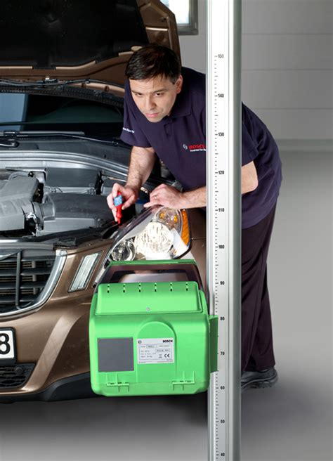 Modern Bosch Test and Diagnostic Equipment for Motor