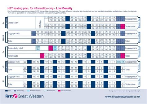 Train seating plans   Seat numbering & layout in European
