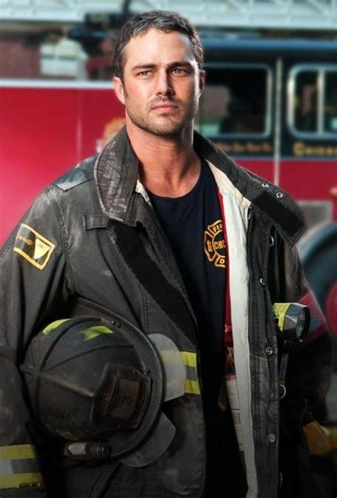 Taylor Kinney as Kelly Severide on NBC's Chicago Fire