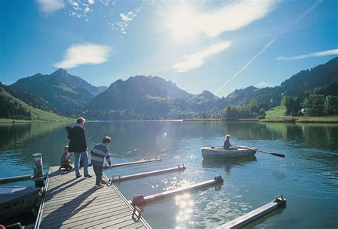 Schwarzsee (Lac Noir) - Fribourg - Schwarzsee - Station de