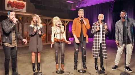 Dolly Parton Joins Pentatonix For An A Cappella Twist On