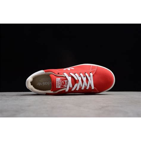 Adidas Stan Smith Scarlet/Cloud-Clear Brown White Shoes