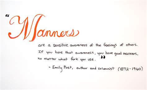 Good Manners Quotes