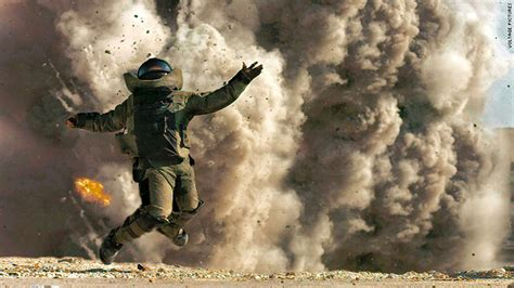 Bomb suit business is thriving