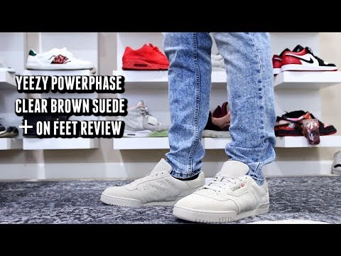 Adidas Yeezy Powerphase Clear Brown