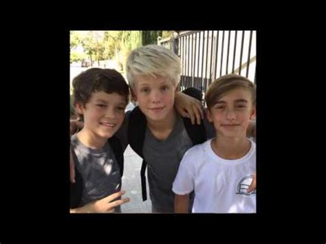 johnny o, carson lueders and hayden summerall cute