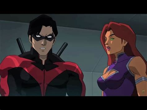 Nightwing and Starfire Take the Next Step - Teen Titans