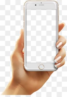 Hand Holding A Cell Phone PNG & Hand Holding A Cell Phone
