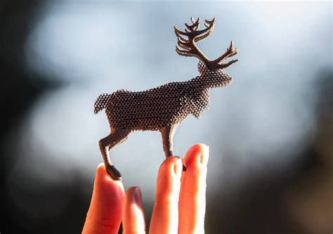 Reindeer 3D Printed from Aluminum 'Santa' Superalloy for
