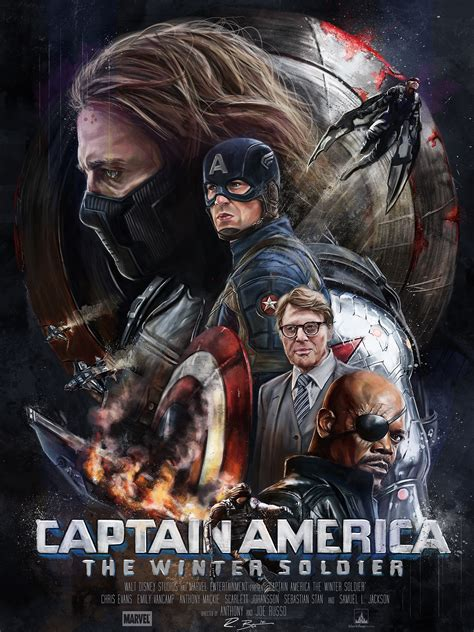 Captain America: The Winter Soldier / Poster Posse #5 on