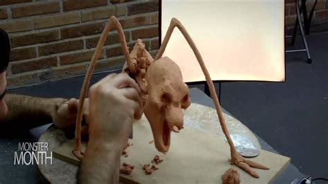 HOW TO SCULPT THE DOORWAY SPECTER GHOST FROM POLTERGEIST