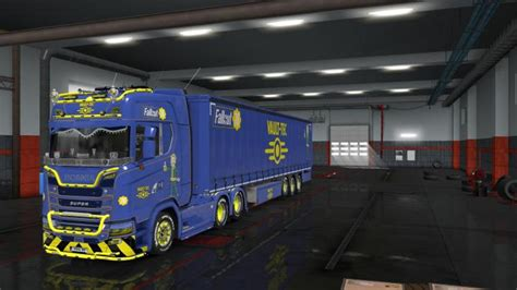 ETS2 – Fallout 76 Truck And Trailer Skin Pack (1
